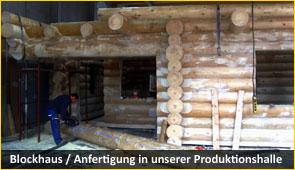 blockhaus 1 - Baustoff Holz