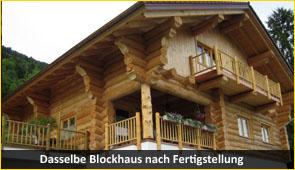 blockhaus 2 - Baustoff Holz