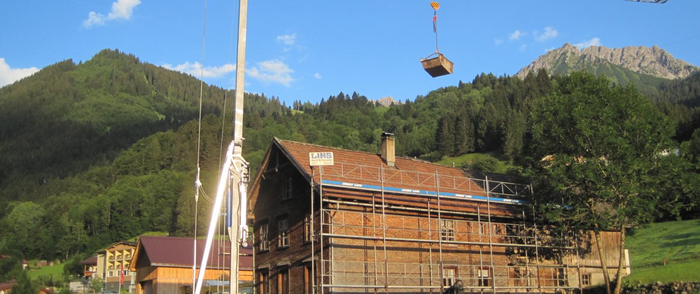 dachstuhl dachgeschoss 00001 1500x630 - Ausbau Dachgeschoss und Sanierung Dachstuhl, Brand