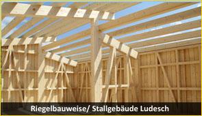 riegelbau 1 - Baustoff Holz