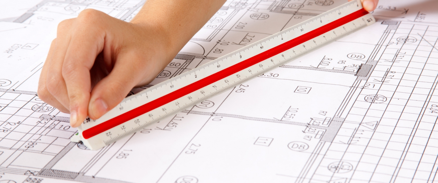 Scale Ruler on Blueprints