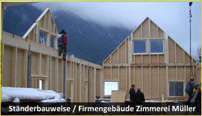 staenderbau 2 - Baustoff Holz